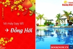 Vé máy bay tết 2017  đi Đồng Hới giá rẻ